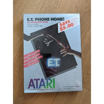 Atari 400 800 XL XE - E.T. PHONE HOME!