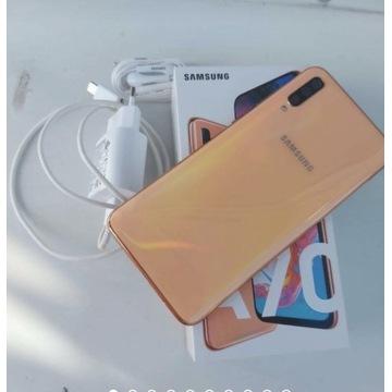 Samsung galaxy A70 komplet gwarancja