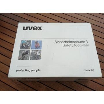 Uvex Półbut ochronny 6502.2 obuwie robocze 43