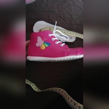 Skórzane buciki Apakowa