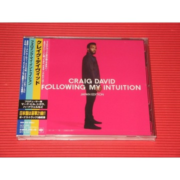 CRAIG DAVID Following My Intuition JAPAN CD Bonus