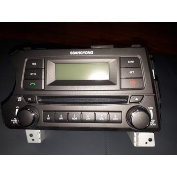 Radio nowe Ssangyong Actyon Sports II, model AGC-9
