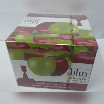 Tytoń / melasa - SHISHA - MAZAYA dwa jabłka