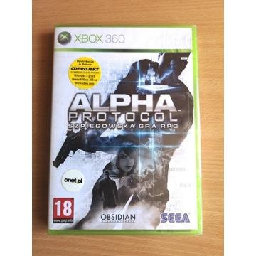 XBOX 360 Alpha Protocol Polskie Wydanie NOWA!