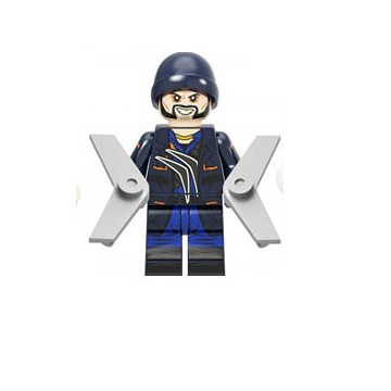 Lego Kapitan Boomerang Figurka  Super Heroes