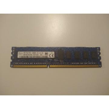 Pamięć RAM 1x4GB DDR3 HYNIX 1866Mhz ECC