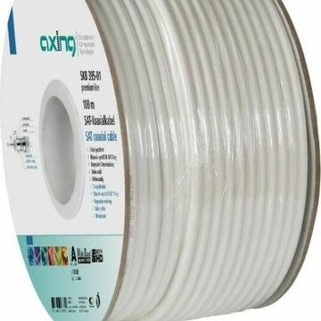 Kabel koaxialny AXING SKB 94-01 - 100m na bębnie