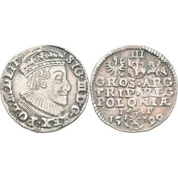Trojak 1590 Olkusz RZADKI
