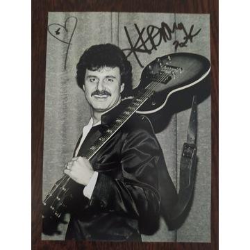 Autograf Krzysztof Krawczyk - jedyny taki