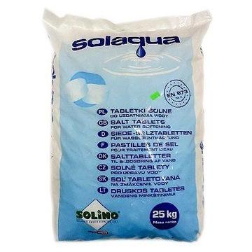 Tabletki solne 25kg uzdatnianie wody solino
