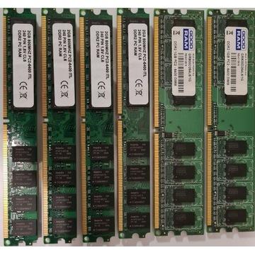 Pamięć DDR2 800MHz 1, 2, 4, 8, 10GB
