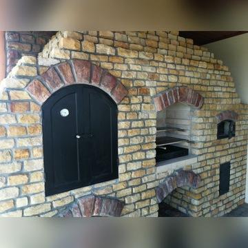 Wędzarnia murowana Gril Grill Piec Chlebowy Kamień