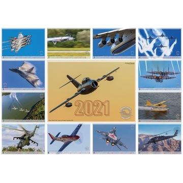 Kalendarz lotniczy na 2021