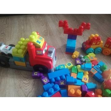 Mega Bloks Fisher Pociąg Ciężarówka