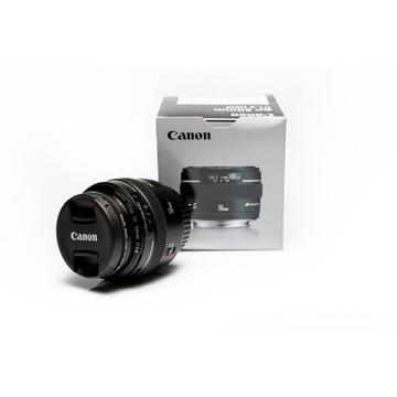 Obiektyw Canon EF 50mm 1.4 USM - super stan