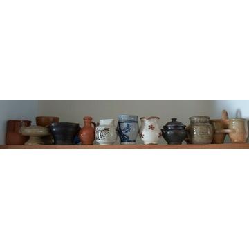 Miniaturowa ceramika wiejska kamionka. XXw