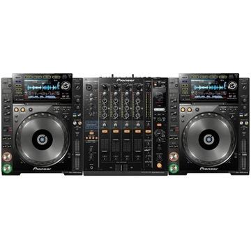 Konsola DJM 900NXS2 z CDJ 2000NXS (x2)