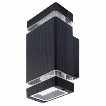 Lampa elewacyjna  zewnętrzna ogrodowa  2xGU10/LED