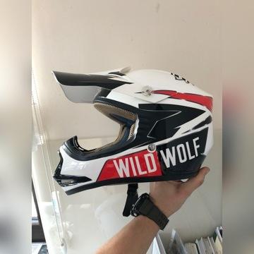Kask SHIRO wilde wolf