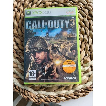 Call of Duty 3 xbox 360 one series x