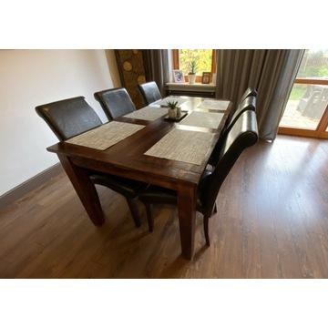 Krzesło tapicerowane 6 sztuk