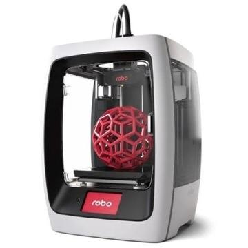 NOWA Drukarka 3D - ROBO R2 + GRATIS 6KG filamentu