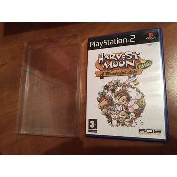 Harvest Moon PS2 protektor kolekcja