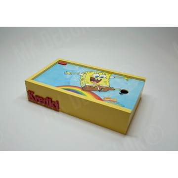 Pudełko na kredki lub pisaki SpongeBob