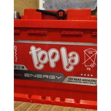Akumulator Topla Energy 60 Ah 600A