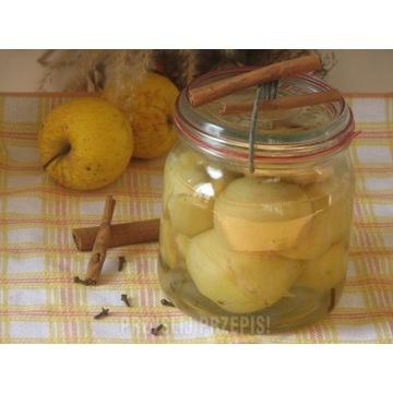 Domowe jabłka marynowane z jabłek własny wyrob