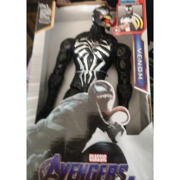 Duża Figurka 30CM VENOM Avengers dźwięk