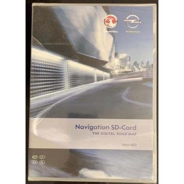 Karta nawigacji SD 2011/2012 Opel