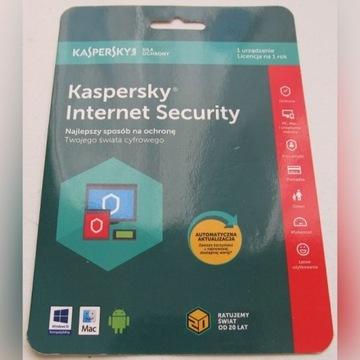KASPERSKY INTERNET SECURITY 1PC 1Y