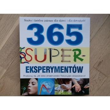 365 super eksperymentów - książka dla młodzieży