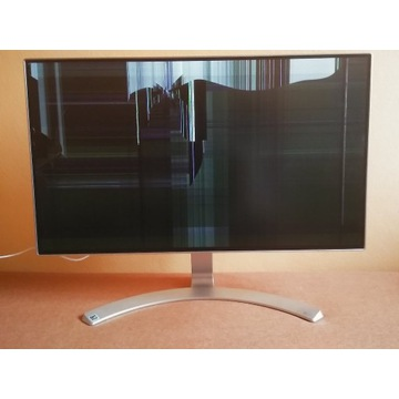 Monitor LG 24MP88HV-S , uszkodzony.