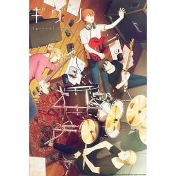 Plakat z anime/ mangi Given A3 tanio yaoi