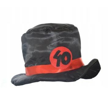 Kapelusz urodziny 40 kapelusz urodzinowy