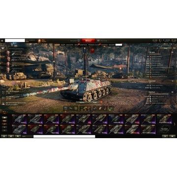 Konto WOT World Of Tanks  19 X , 13 VIII premium.