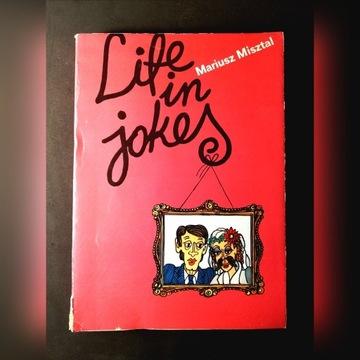"OFERTA! ""Life in jokes"" Mariusz Misztal"