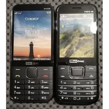 Atrapy telefonów MaxCom- cały zestaw za 5zł