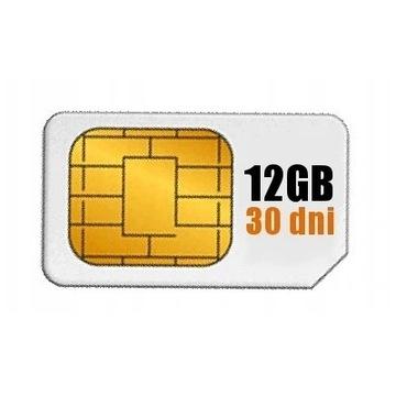 Internet 12GB Roaming EU Karta SIM ponad 70 krajów