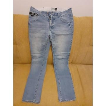 Spodnie jeansowe męskie nowe 33/34.