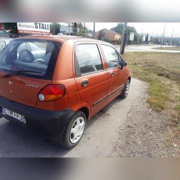 Daewoo Matiz--klapa tył ceglasta 75U--części Łódź