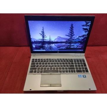 HP 8560p i7-2620M 2.7GHz 8gb Ram, NOWY ssd 256gb