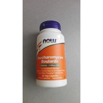 Saccharomyces Boulardii Now Foods 60 NOWY
