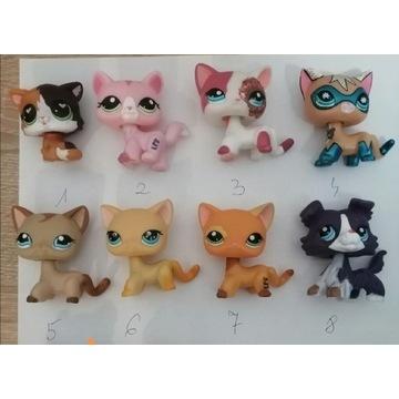 Zestaw 8 sztuk figurek lps pet shop