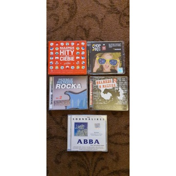 Hity dla Ciebie Polski Rock Abba 5 płyt CD