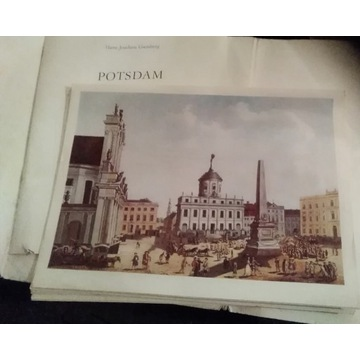 Stare Rysunki Poczdam Krajobrazy Potsdam 1976 r