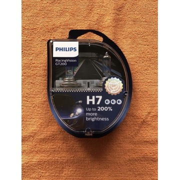 Philips H7 RacingVision gt200 +200%