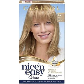 Clairol Nice'n Easy 9A Jasny, popielaty blond